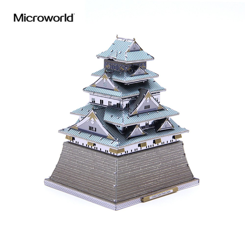 Metallic Nano puzzle premium series Osaka Castle