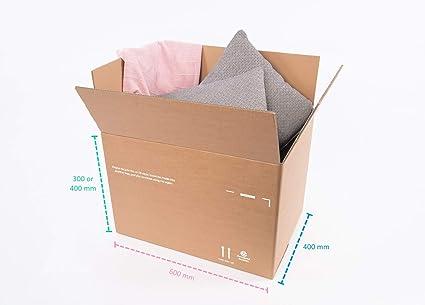 Pack > Enviar > Mover PSM1BC caja de cartón grande doble pared variable altura fuerte (