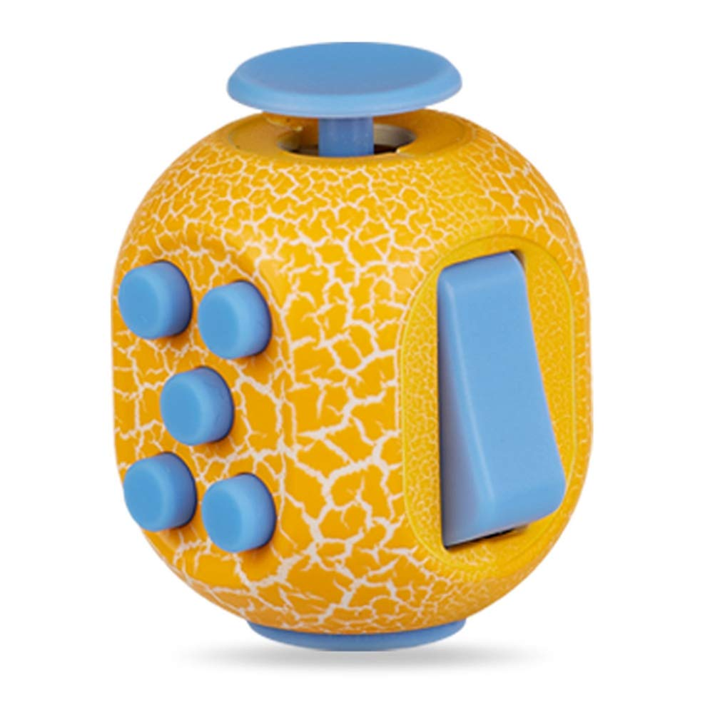 Fidget Toy Cube Toy with Click Ball - Relieve Stress and Anxiety Fidget Toys,Randomcolor2pc by TRF (Image #2)