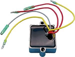 Tuzliufi Replace Voltage Regulator Rectifier Mercury Mariner Outboard 5 Wires 25HP 30hp 40hp 65hp 70hp 75hp 80hp 90hp 100hp 105HP 115hp 125hp V-135hp V-140hp V-200hp 95hp 120hp 175hp 210hp 250HP Z33