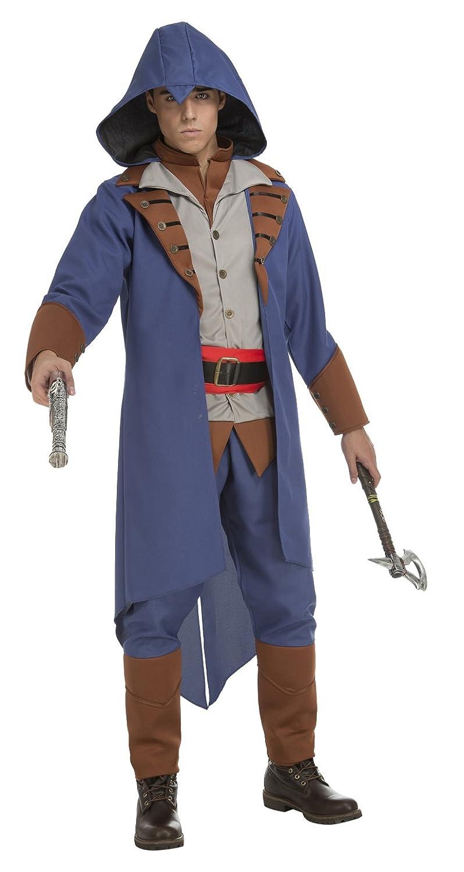 My Other Me 203955 - Disfraz de asesino para hombre, color azul ...