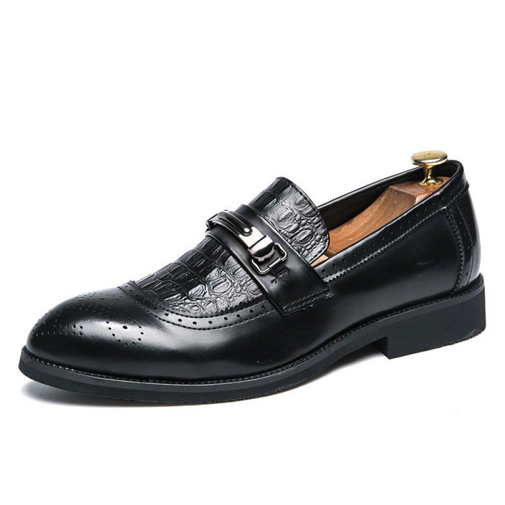 Männer Schnürschuhe Spitze Lederschuhe Business-Schuhe Freizeitschuhe