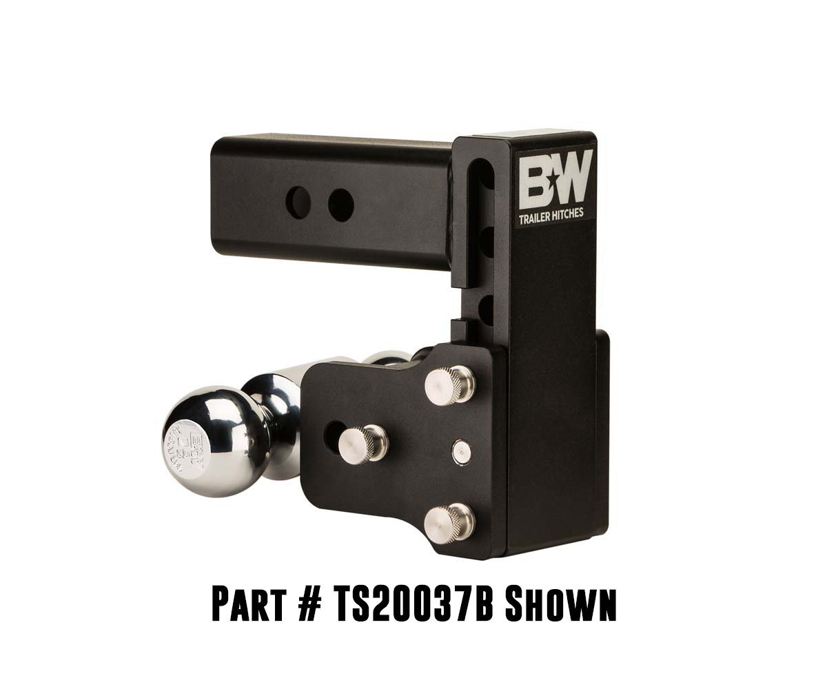 B/&W Trailer Hitches TS10043B Tow and Stow Hitch BWHTS10043B
