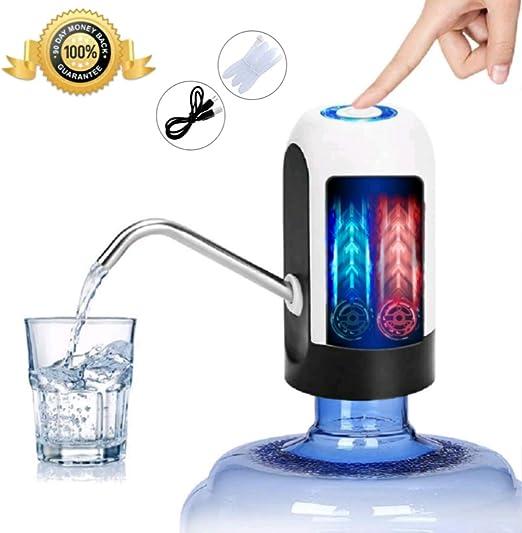 JSG Dispensador De Agua, Bomba Electrica, Automatico Carga USB ...