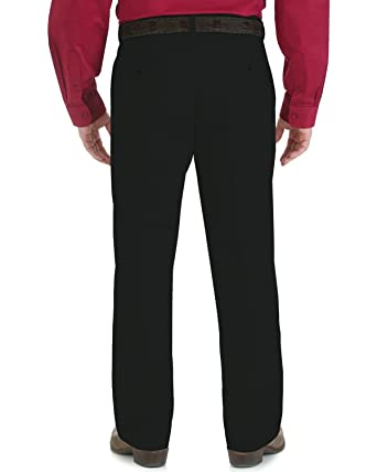 74eba1ae Wrangler Men's Riata Advanced Comfort Flat Front Casual Pant at Amazon  Men's Clothing store:
