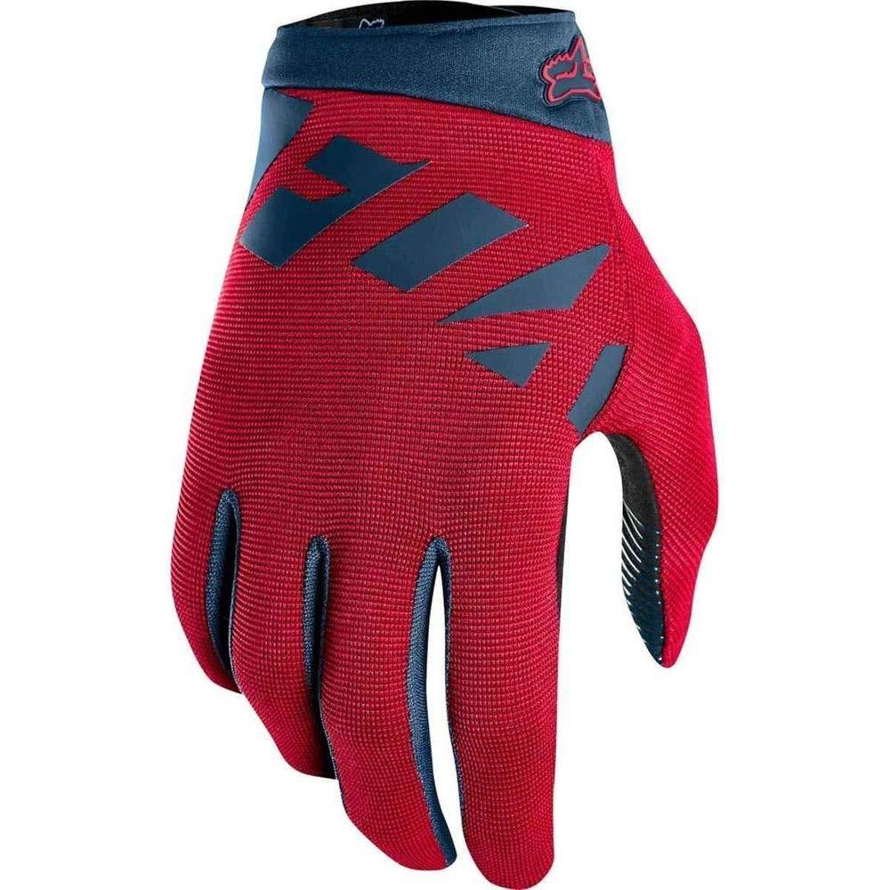 Fox Head Mens Ranger Bike Safety BMX MTB Gloves (Cardinal, Medium)
