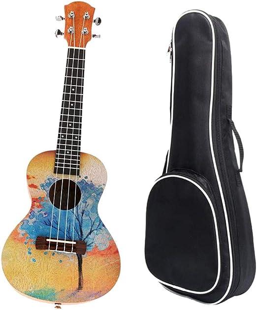 Ukulele Para Principiantes Adulto,Niños 23 pulgadas de ukulele de ...