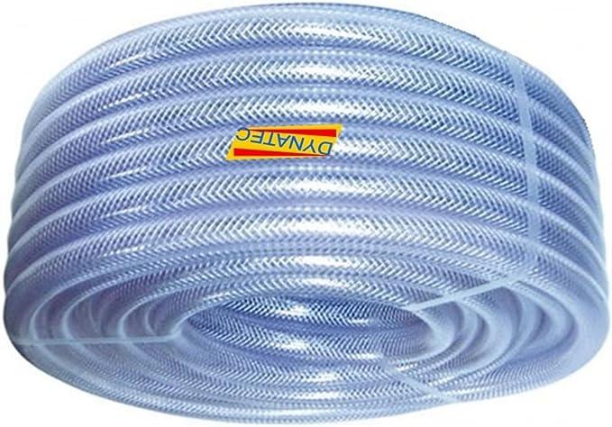 1 Pompe Chemical 30m Bobine Eau compresseur dair clair tress/é tuyau PVC 25mm SEWAGE
