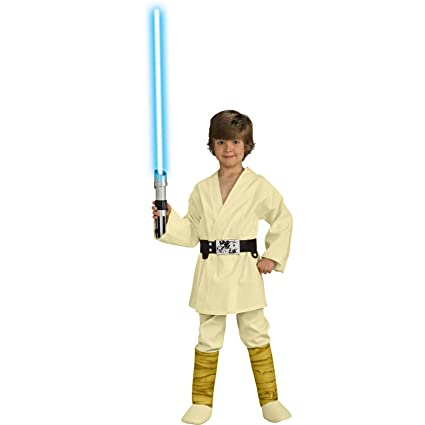 Amazon.com: Traje de niños de Luke Skywalker deluxe ...