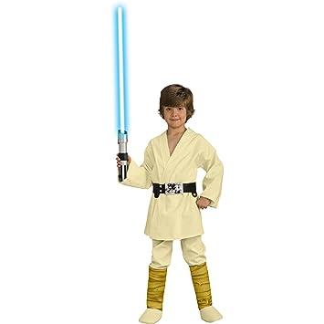 Deluxe - Disfraz de Luke Skywalker para niños: Amazon.es ...
