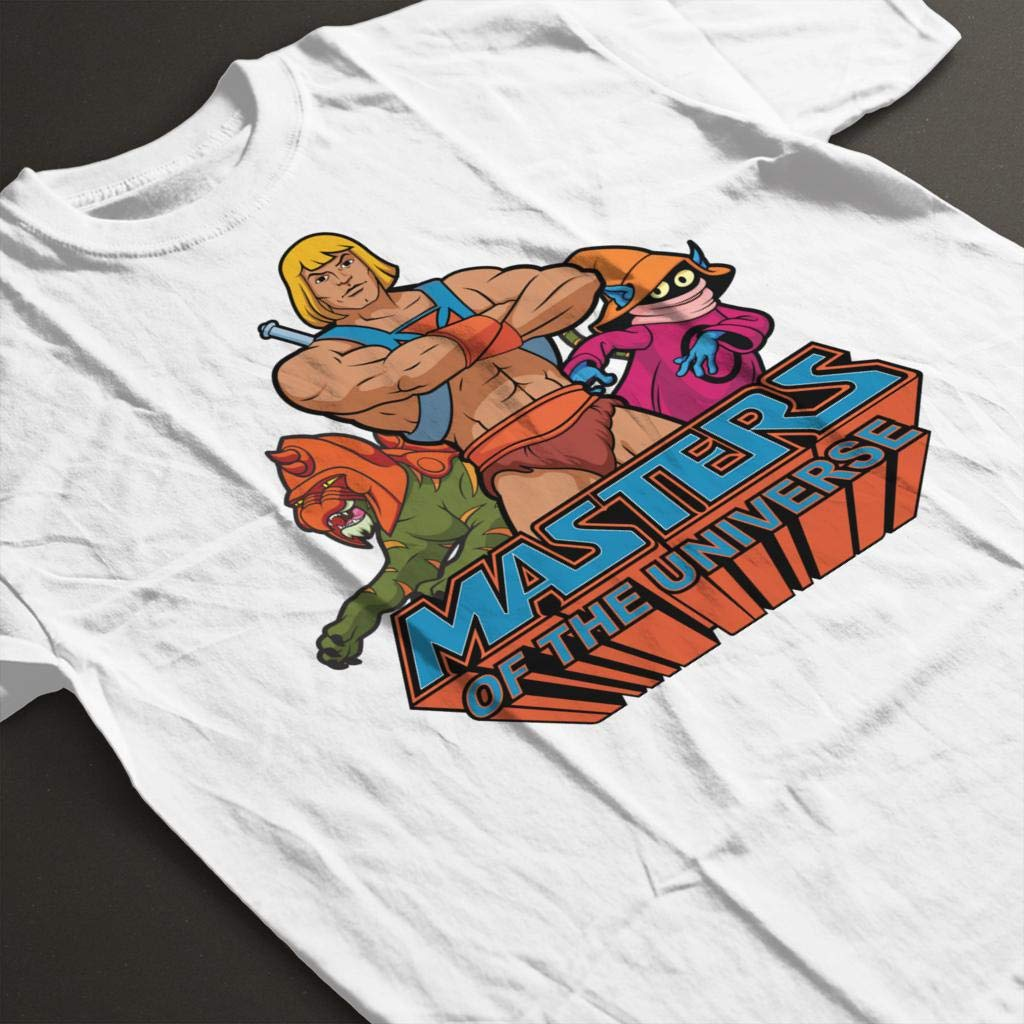 Masters of the Universe He Man Battle Cat and Orko Kids T ...