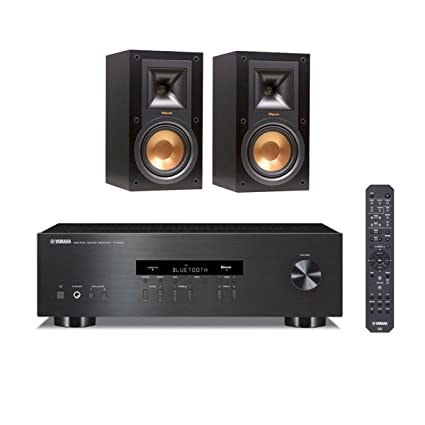 Klipsch R 15M Reference Monitor Speakers With Yamaha S202 Bluetooth Stereo Receiver