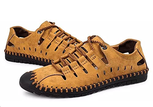 Hombres Deportivas Sandalias Zapatillas Verano Pescador Playa Zapatos Senderismo Casuales Cuero Chanclas Transpirable Trekking: Amazon.es: Zapatos y ...