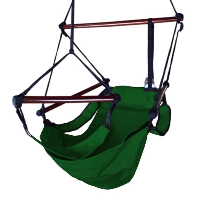 Amazon.com: NUEVO Verde Air Hamaca Columpio Silla Patio ...