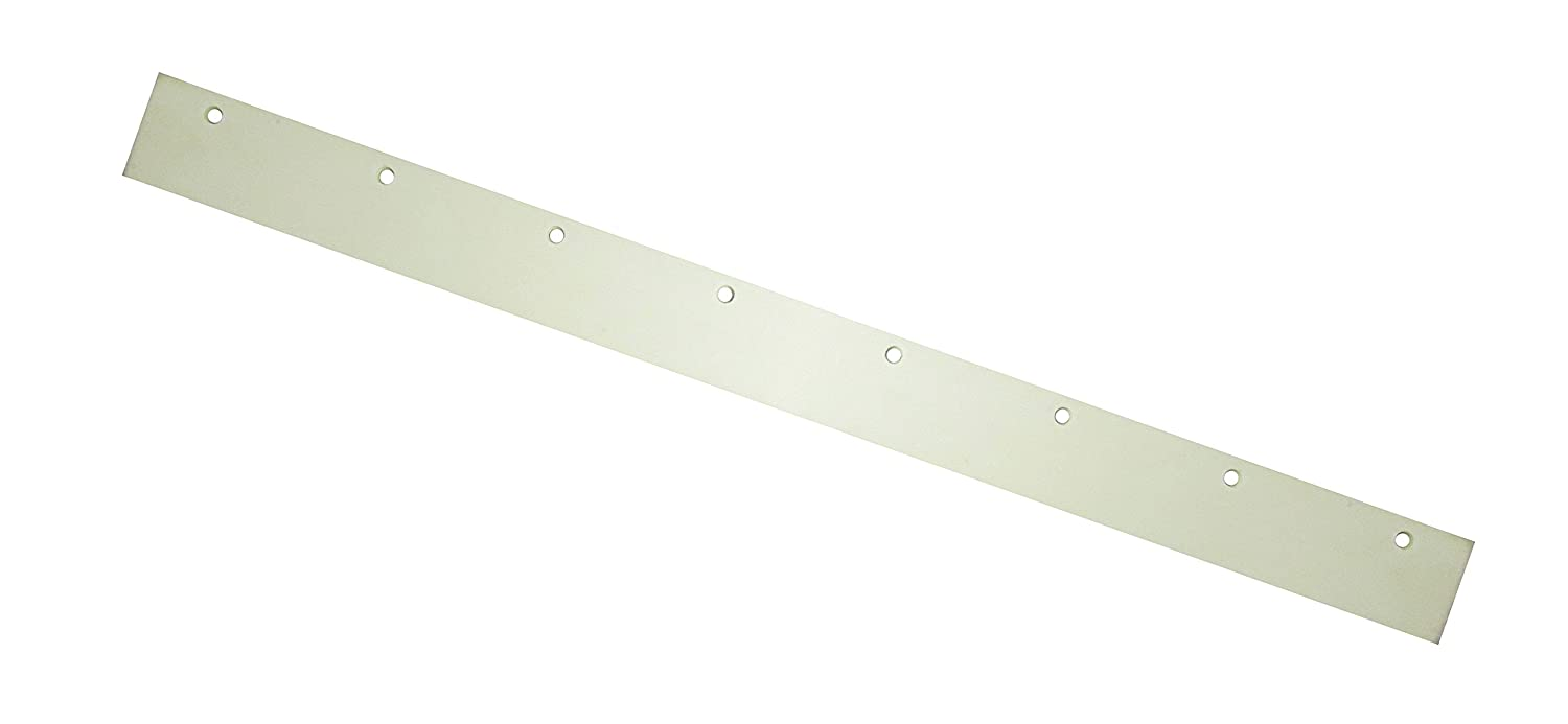 White Ettore 55142 Rubber Replacement Blade for Floor Squeegee 24 Pack of 12