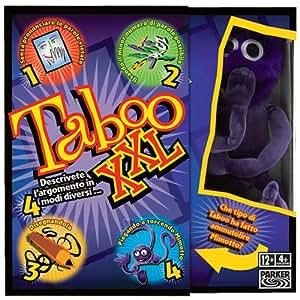 Hasbro Taboo XXL - Juego de mesa (versión en italiano) [Importado de Italia]