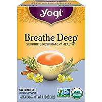 Breathe Deep - Té Orgánico Eucalipto y Canela, 16 sobres