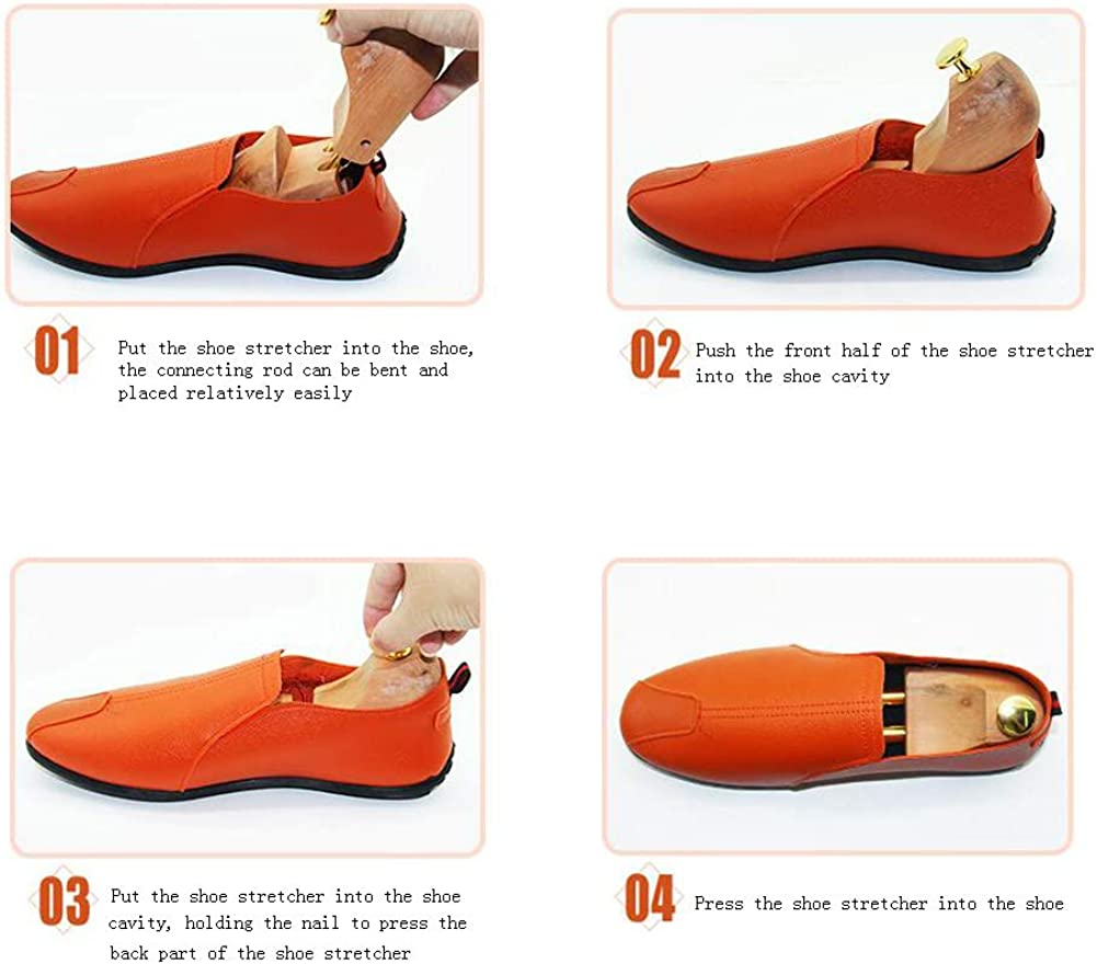 Scarpe Barelle Shaper per Uomo Donna Oxfords rismart Legno di Faggio Tendiscarpe include Calzascarpe