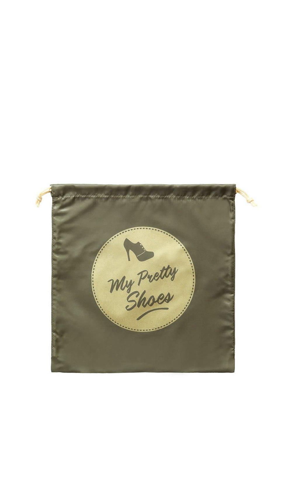 Cathy ds paris Clutch bag MY PRETTY SHOES Khaki Women Spring/Summer Collection