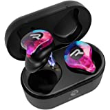 Raycon E70 Pro Best True Wireless Earbuds with Built-in Mic and Charging Case, Bluetooth Headphones for iPhone, Samsung, iPad, Android (Flare Red)