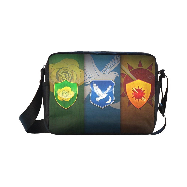 DOROT Game Of Thrones Unisex Nylon Waterproof Material Black Cross-body Nylon Bags Shoulder Bag