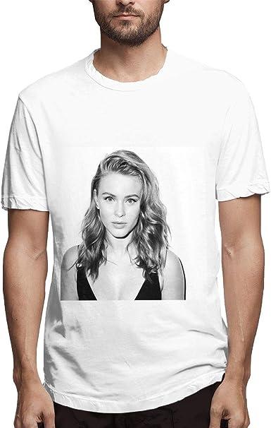 COCOBEFF Zara Larsson - Camiseta de Manga Corta para Hombre ...