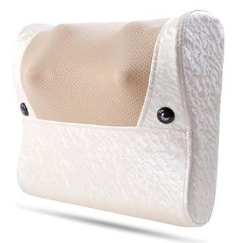 WLM Masajeador Cervical, Almohada eléctrica para el Cuello, Hombro, Cintura, Almohada para