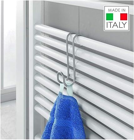 Metaltex Radius - Gancho toallero para radiador de baño ...