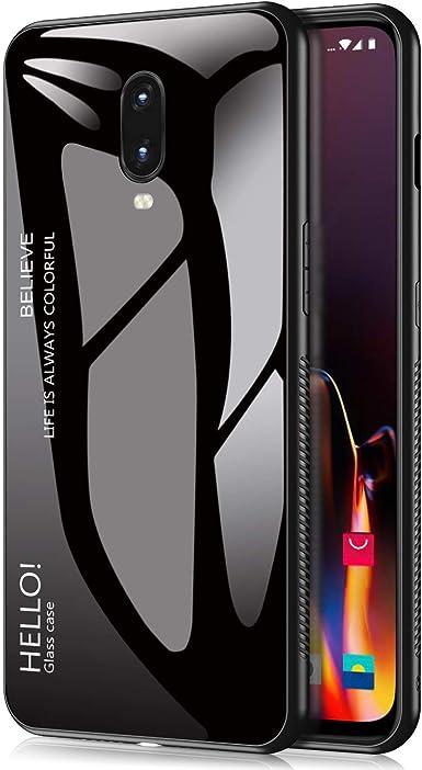 Oneplus 6T - Carcasa para Smartphone Oneplus 6T (Cristal Templado ...