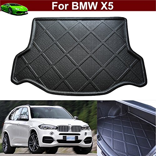 New Car Boot Mat Carpet Cargo Mat Cargo Liner Cargo Cover Rear Trunk Liner Tray Floor Mat For BMW X5 2007 2008 2009 2010 2011 2012 2013 2014 2015 2016 2017 2018 KaiTian Auto Part Co. Ltd