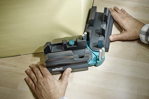 Wolfcraft 6948000 - Caja de ingletes para cortar en bisel, negro: Amazon.es: Bricolaje y herramientas