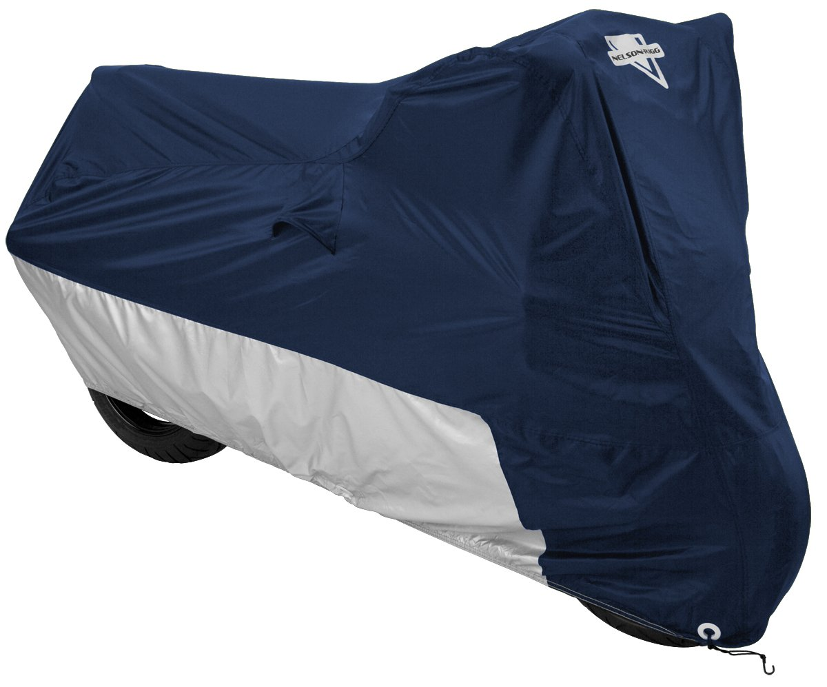 Nelson Rigg Deluxe All Season MC-902 Navy Motorcycle Cover - 2X-Large by Nelson-Rigg
