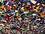 Lego 500 Random Small Pieces of Good Clean Used Bricks and Parts Bulk Lot