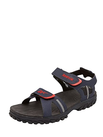 6eb4ae97cd6 Reebok Men s Blue Sandals - 9 UK  Buy Online at Low Prices in India -  Amazon.in
