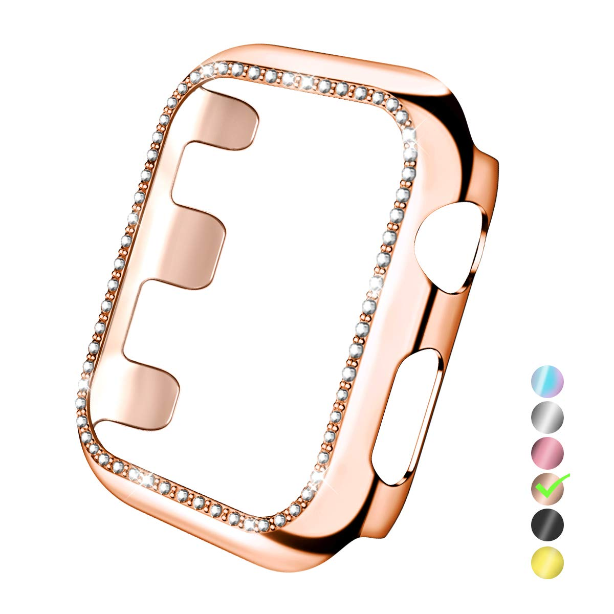 Funda Rose Gold Para Apple Watch 38mm Series 3/2/1