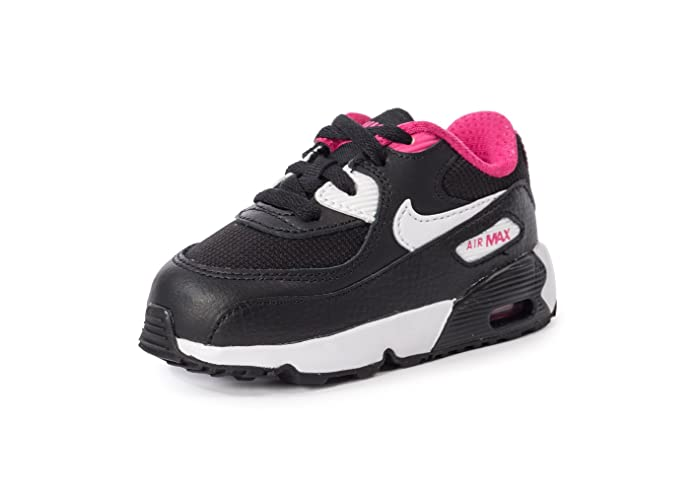 d1200c8cd Nike Baby Boys  Air Max 90 Mesh (Td) Sneakers Black Size  9 Child UK ...