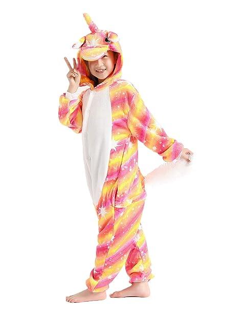 Amazon.com: Flora Huxley - Disfraz unisex de unicornio ...