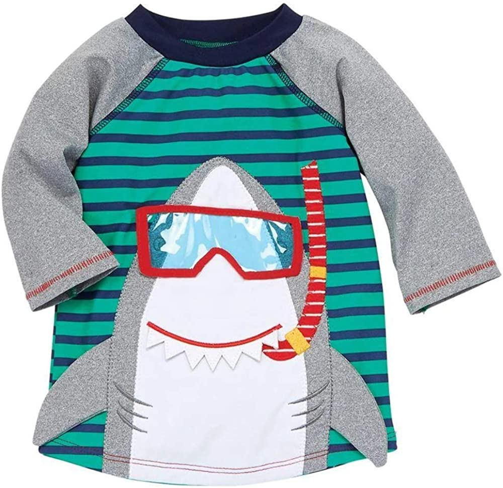 Mud Pie Boys' Shark Rashguard