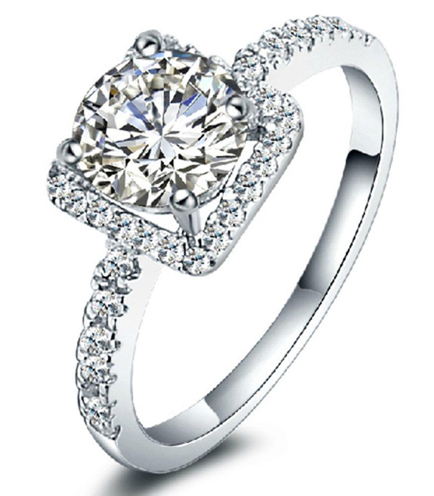 SaySure - 925 Sterling Silber Jewelry 18K Weiß Weiß Weiß Gold Plated B0171C4CBC Zubehr & Gerte Preiszugeständnisse 0ee0c5