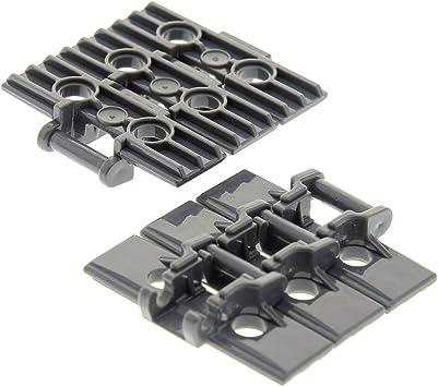 LEGO 20 x Technik Technic Kettenglieder Kette groß neues dunkelgrau 57518