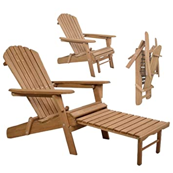 Excellent Amazon Com Hulaloveshop Foldable Wood Pull Out Adirondack Cjindustries Chair Design For Home Cjindustriesco