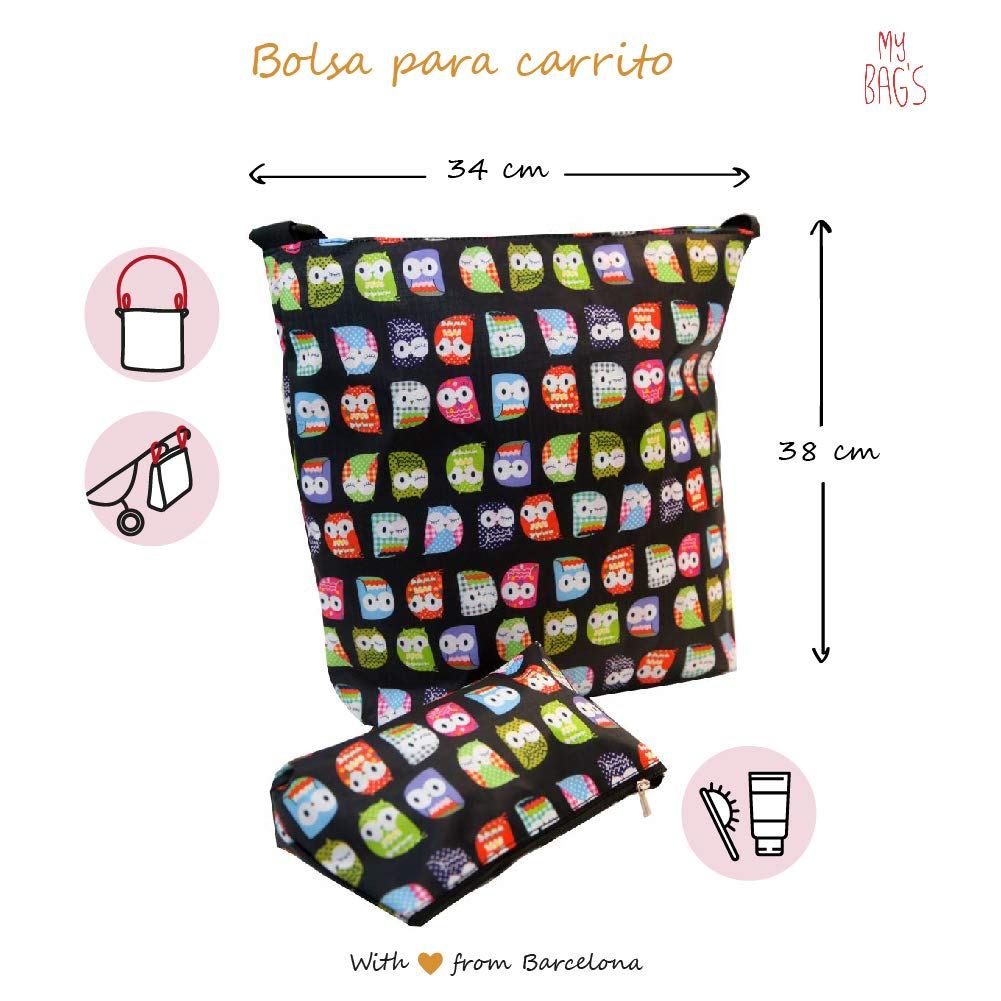 My Bags Set Bolso para Silla de Paseo + Cambiador + Neceser + Porta ...
