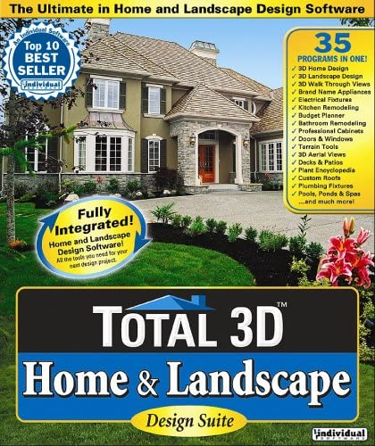 Amazon Com Total 3d Home Landscape 7 0 Old Version Software