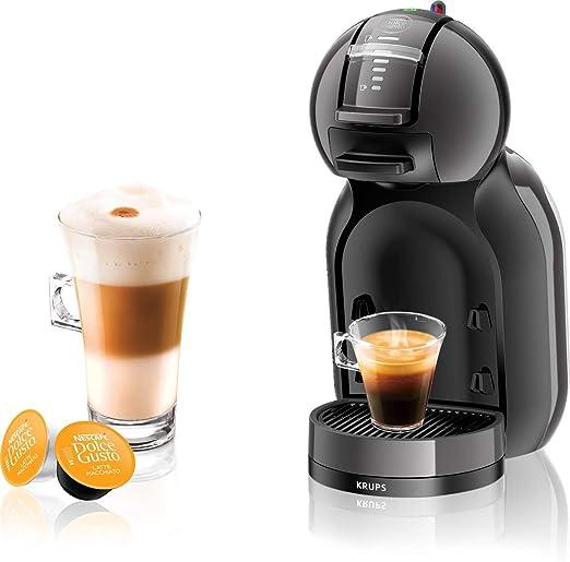 Krups KP1208 Máquina de café en cápsulas 0.8L Antracita, Negro cafetera eléctrica