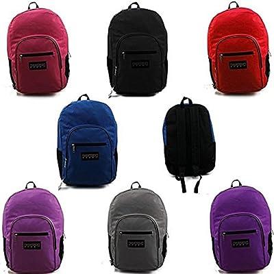 "Wholesale 19"" Backpacks in 7 Colors"