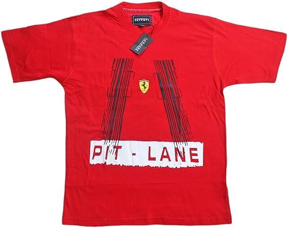 Ferrari Pit Lane TSH 2scherren Camiseta de Scuderia Team té ...