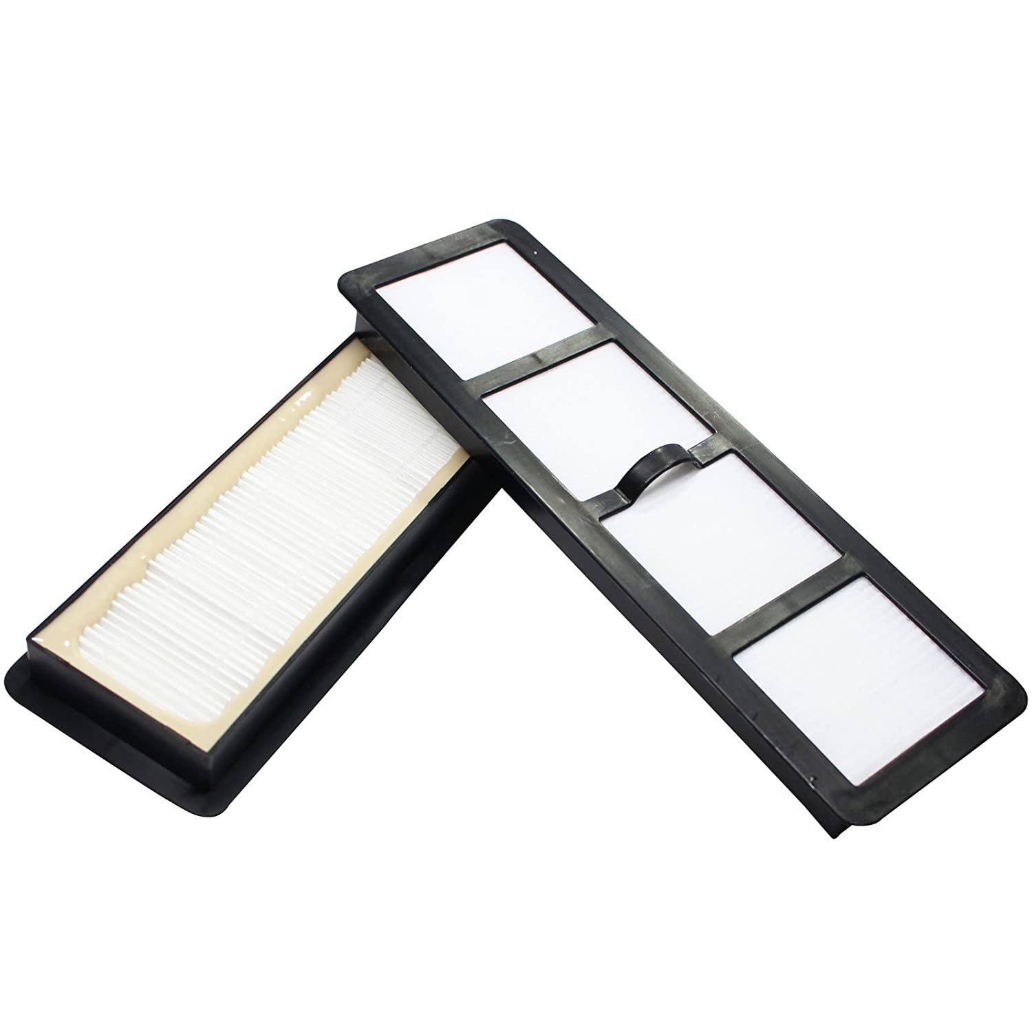 2-Pack Replacement EF-6 Filter 69963 for Eureka - Compatible with Eureka Airspeed, Eureka AirSpeed AS1000A, Eureka AS1000A, Eureka AS1000, Eureka AS1001A, Eureka AS1051A, Eureka AS1001, Eureka AirSpeed AS1001A, Eureka EF-6, Eureka AS1002A, Eureka AirSpeed AS1000