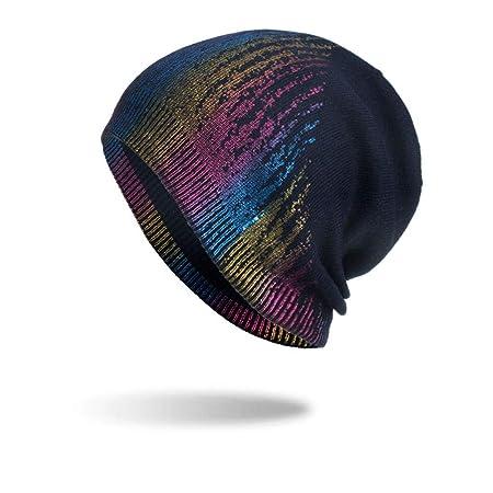 YUTJK Conjunto de Sombrero de Punto Sombrero de Punto de Sombreros ...