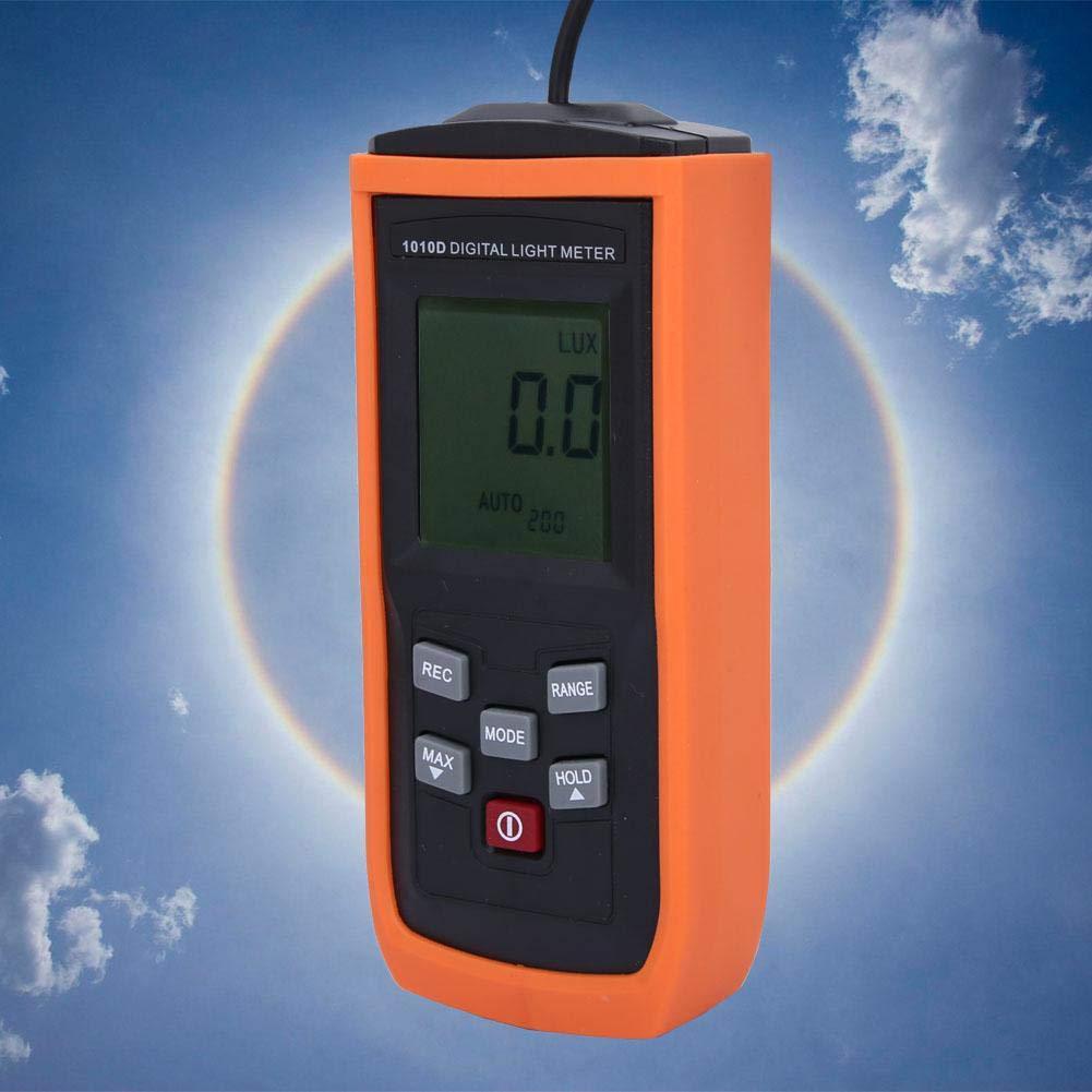 Digital Illuminance//Light Meter,YITENSEN VC1010D Light Meter Illuminance Meter Brightness Meter 200000Lux Illumination