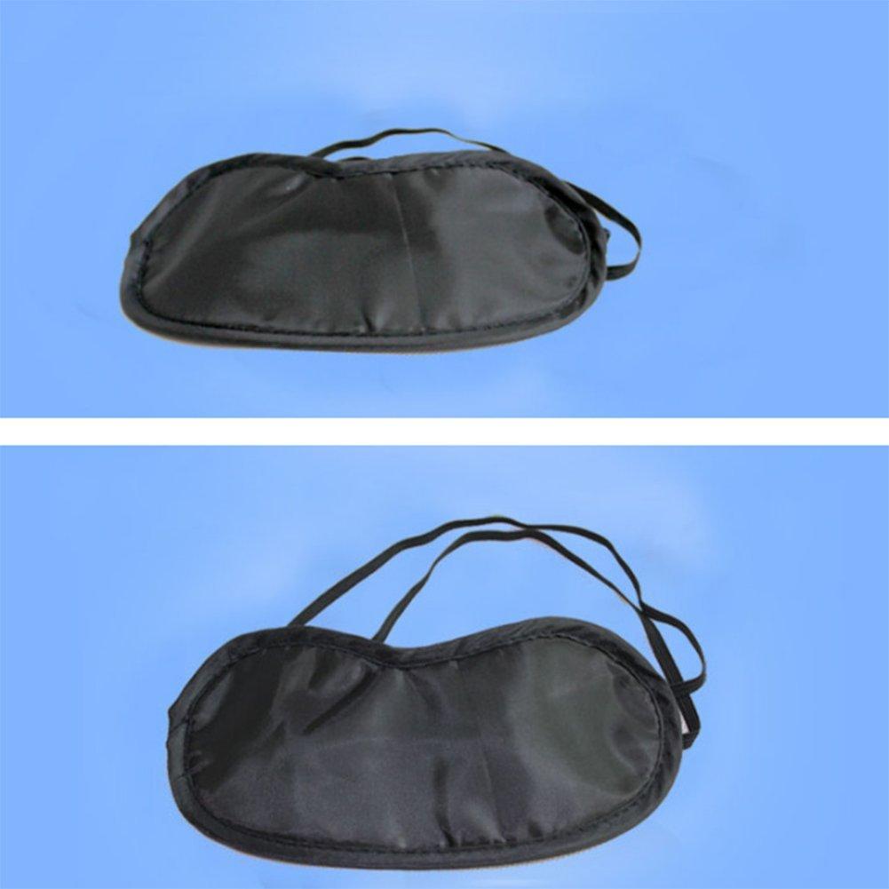 10Pcs daliuing Eye Mask Super Smooth Traspirante Night Blinder Eyeshade Blindfold Nap Dormire Resto di viaggio Blinder Dormire Eye Mask-No Nose Care